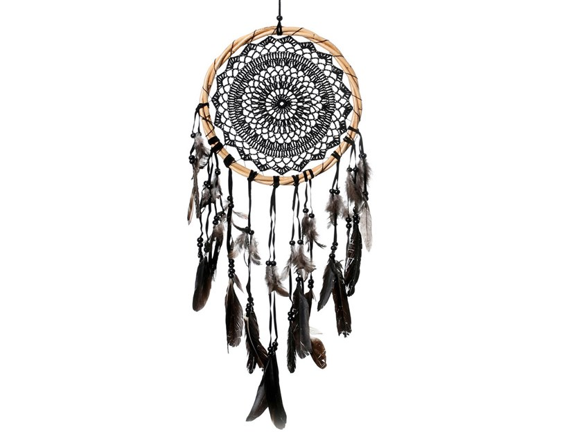 Wooden dreamcatcher BA137 | Hanging decoration by Bazar Bizar