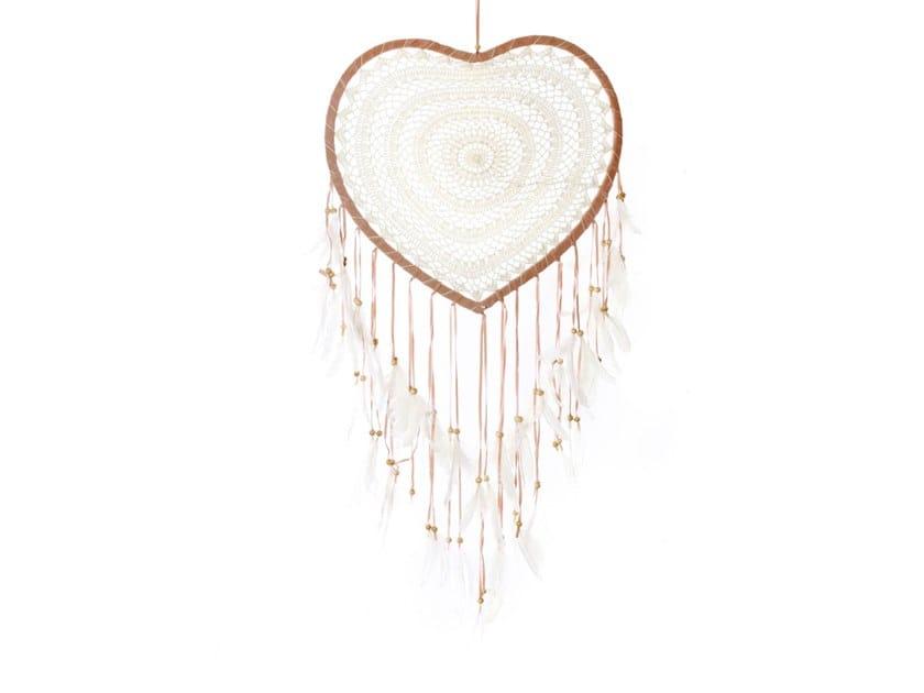 Wooden dreamcatcher BA143 | Hanging decoration by Bazar Bizar
