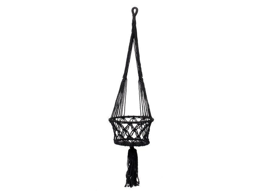 Hanging cotton vase BA151B-L by Bazar Bizar
