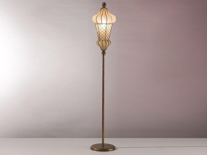 Murano glass floor lamp BABÀ MP 105 by Siru