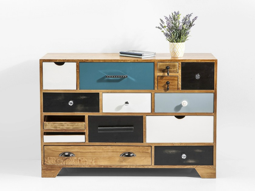 Modular solid wood chest of drawers BABALOU EU 14 by KARE-DESIGN