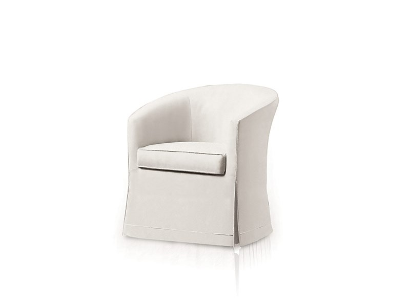 Fabric armchair with armrests BABELIA by Felis