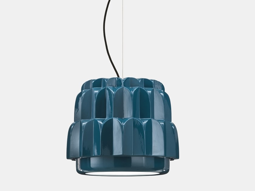 Ceramic pendant lamp BABETTE BB1 by Il Fanale