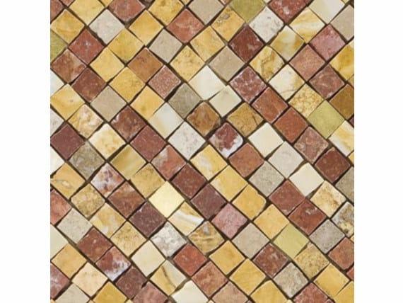 Marble mosaic BABILONIA GOLD 15 by FRIUL MOSAIC