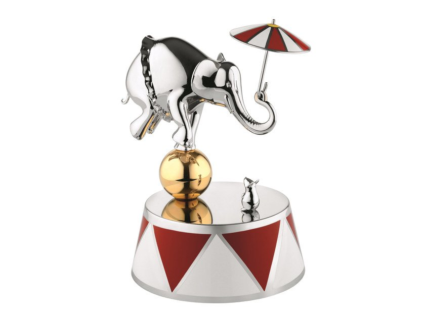 Stainless steel baby chime THE BALLERINA by Alessi