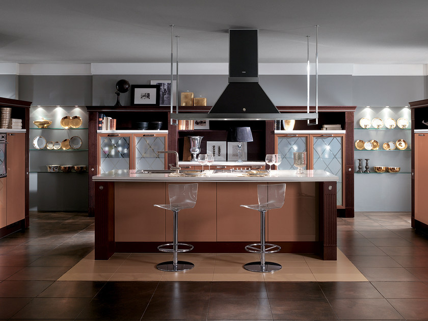Fitted kitchen BACCARAT by Scavolini