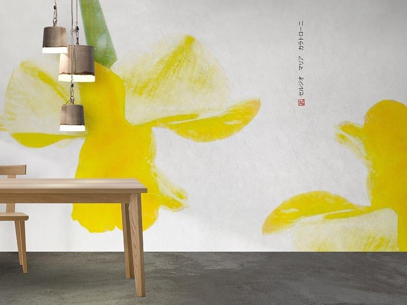 Vinyl or fyber glass wallpaper BACH by N.O.W. Edizioni