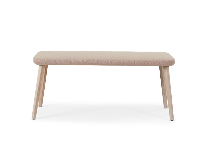 Fabric bench BACK ME UP | Bench by Montis