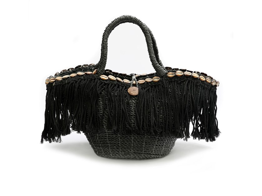 Natural fibre bag MACRAME | Bag by Bazar Bizar