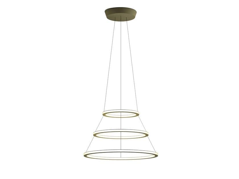 Led Aluminium Pendant Lamp Bagues 9123
