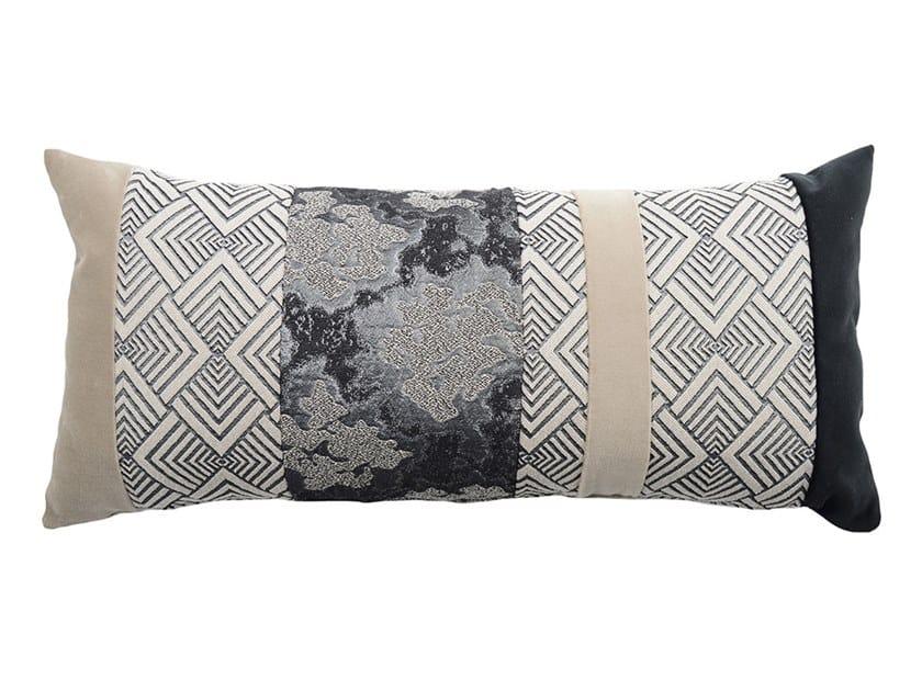 Rectangular fabric cushion BAGUETTE 046-16 by l'Opificio