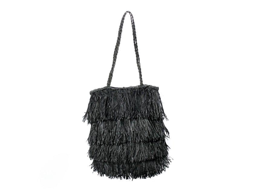 Raffia bag BAHAMAS TOTE by Bazar Bizar