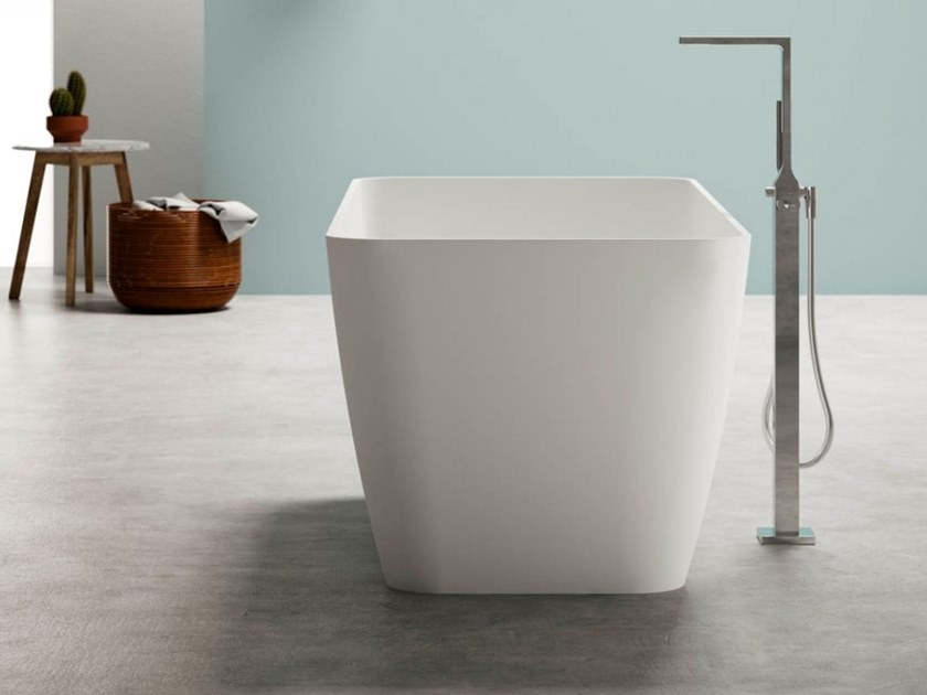 BluStone rectangular bathtub BAHIA by Blu Bleu