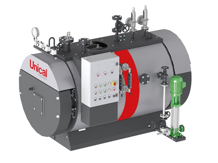 Metal boiler BAHR'12 by Unical AG