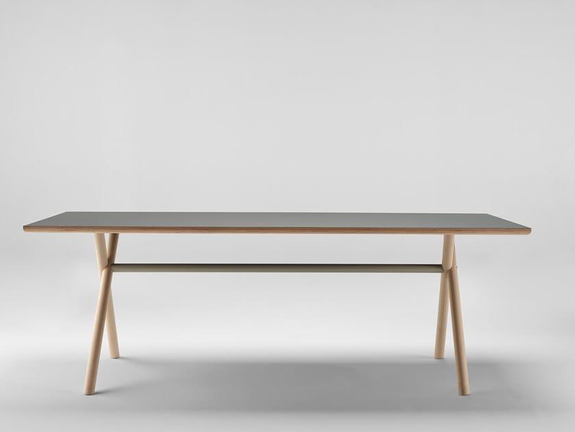 Rectangular table BAI WOOD | Table by ONDARRETA