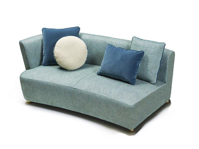 Sectional sofa BAIA DESTRO by MARIONI