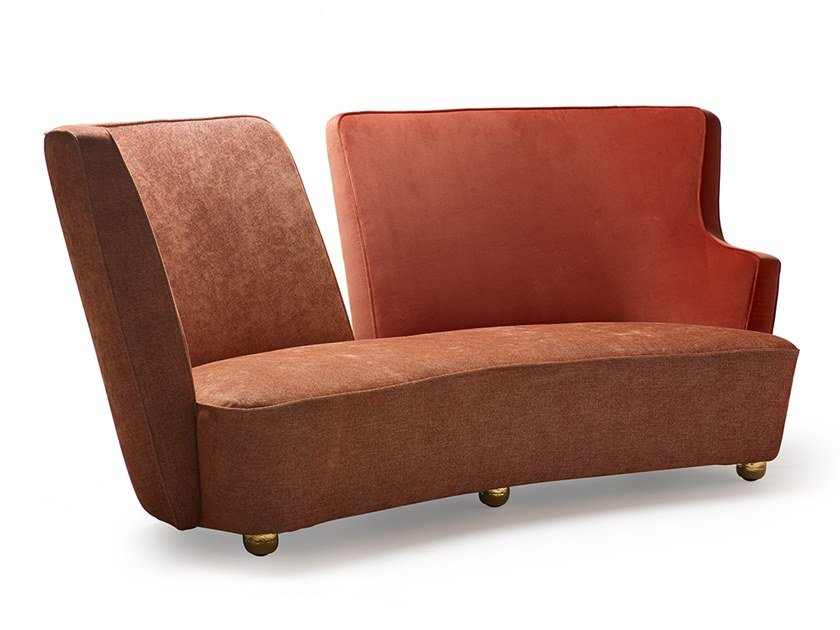 2 seater fabric sofa BAIA | Sofa by MARIONI