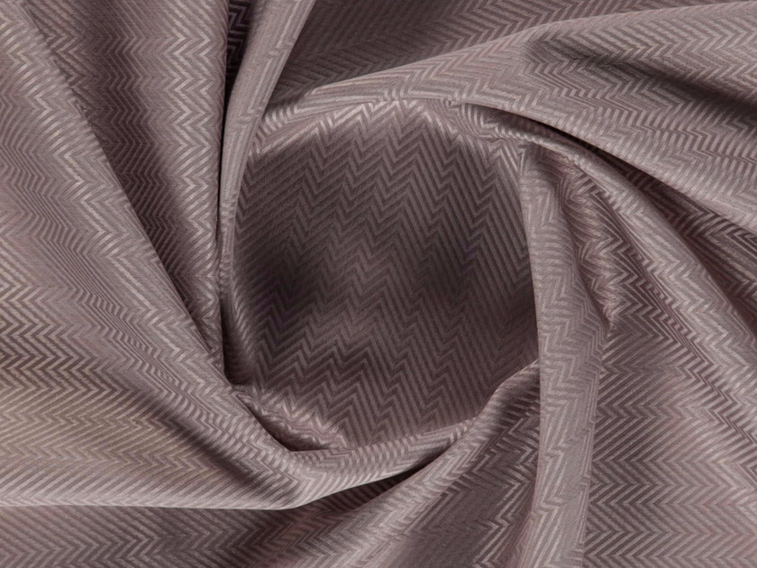 Washable tweed polyester fabric for curtains BAIXO by More Fabrics