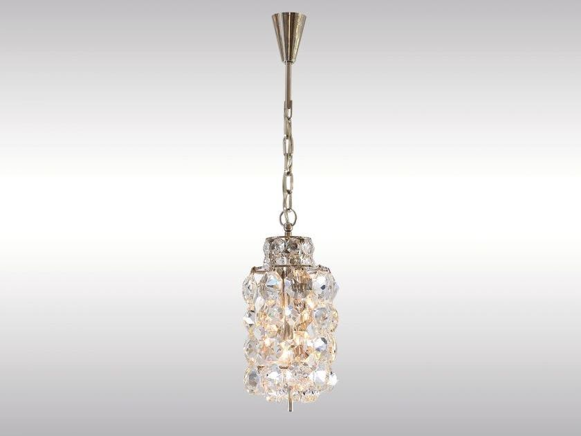 Classic style crystal pendant lamp BAKALOWITS LANTERN by Woka Lamps Vienna
