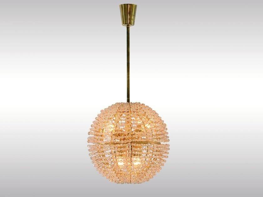 Lampada a sospensione in vetro in stile classico BAKALOWITS SUPERNOVA by Woka Lamps Vienna