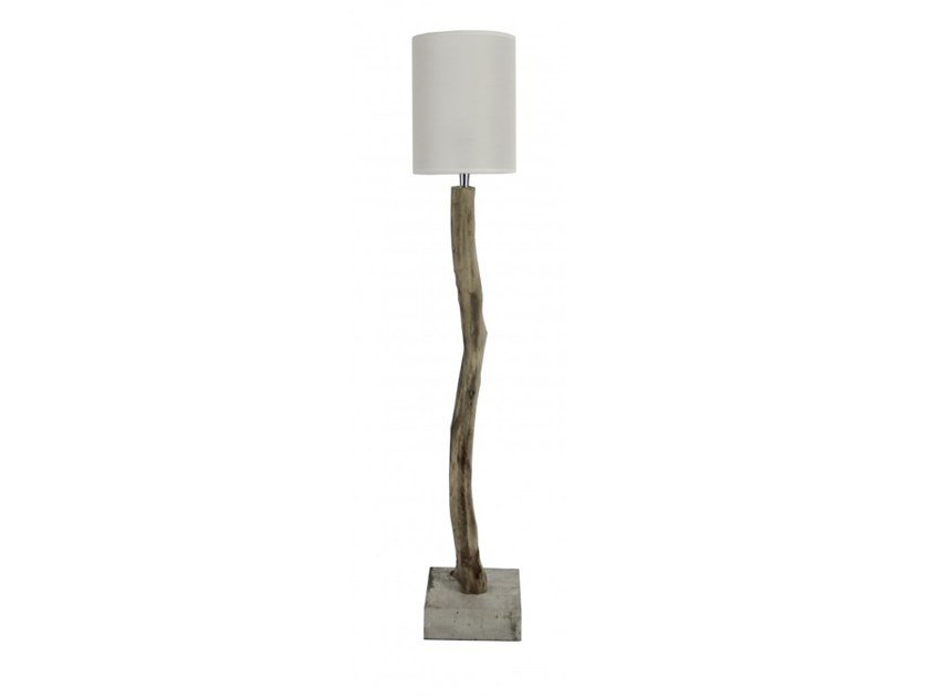 Wooden table lamp BAKOU by Flam & Luce