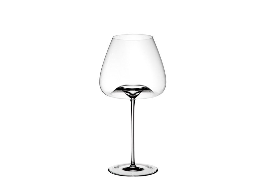 Blown glass wine glass (2 pieces) BALANCED by Zieher