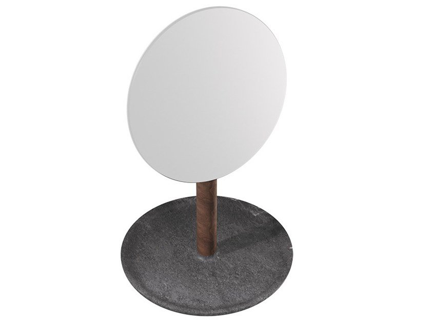 Hand round mirror BALDA | Mirror by L'ANTIC COLONIAL