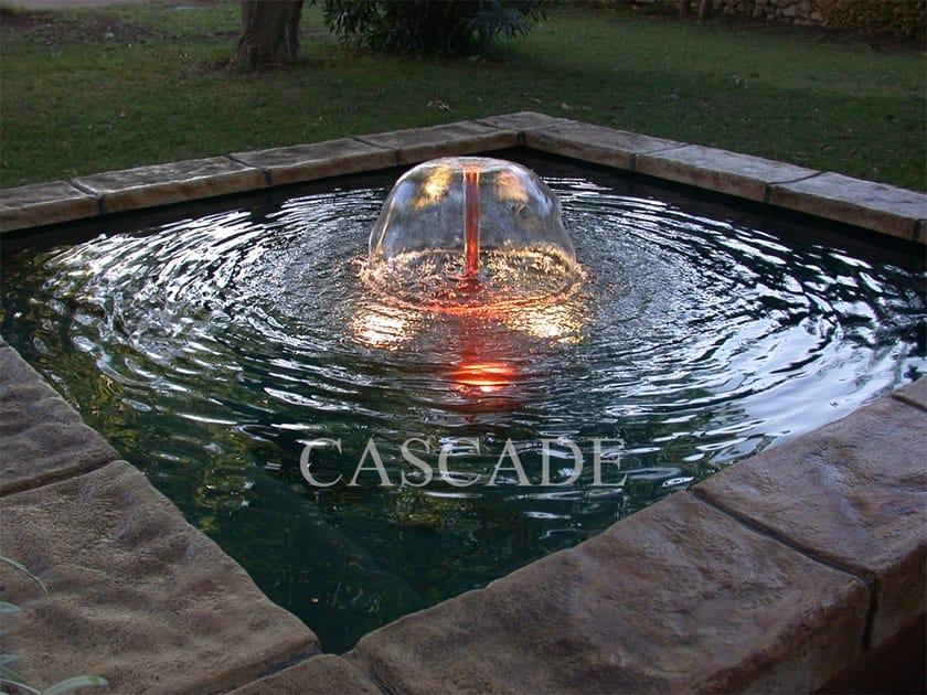 Fiberglass Floor fountain BALI by CASCADE