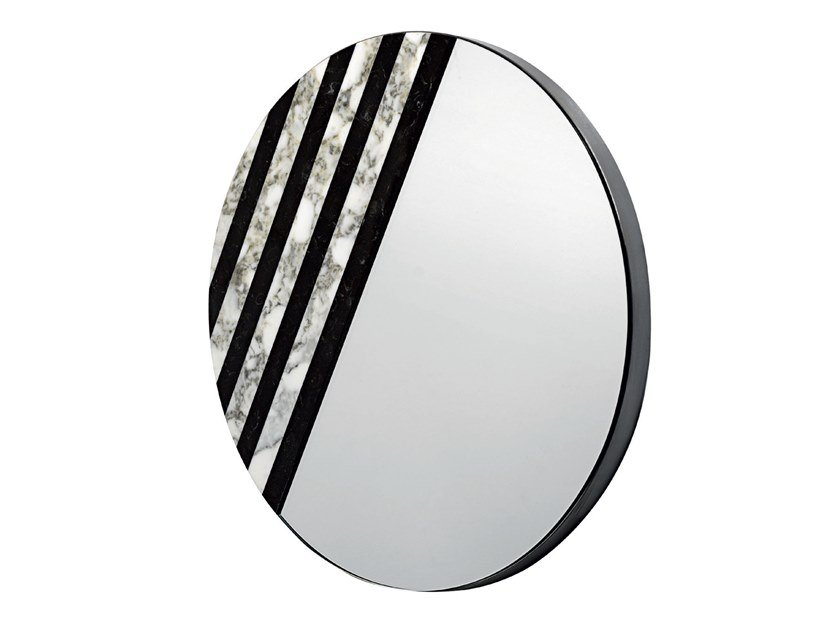 Wall-mounted marble mirror BALIN by Visionnaire
