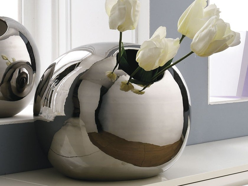 Ceramic vase BALL by Adriani e Rossi edizioni
