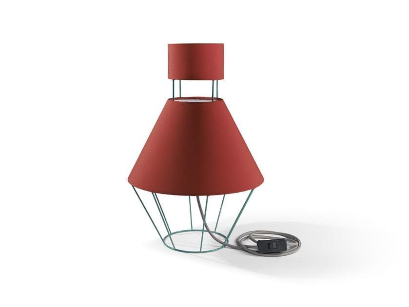 Linen table lamp BALLOON | Table lamp by Atipico