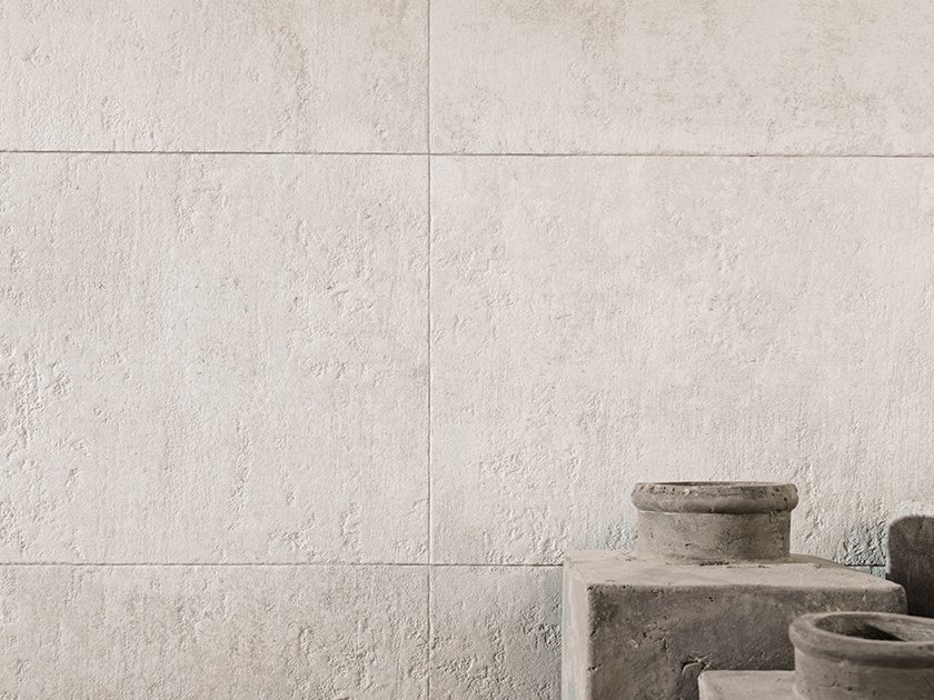 Wall/floor tiles with concrete effect BALTIMORE WHITE by Venis