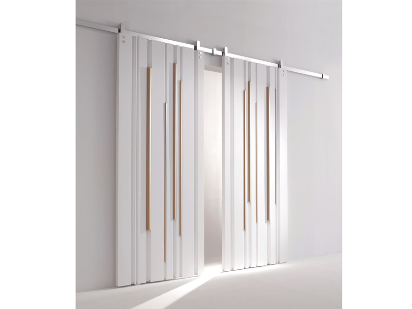 Sliding Door Without Frame BAMBOO | Sliding Door By Laurameroni
