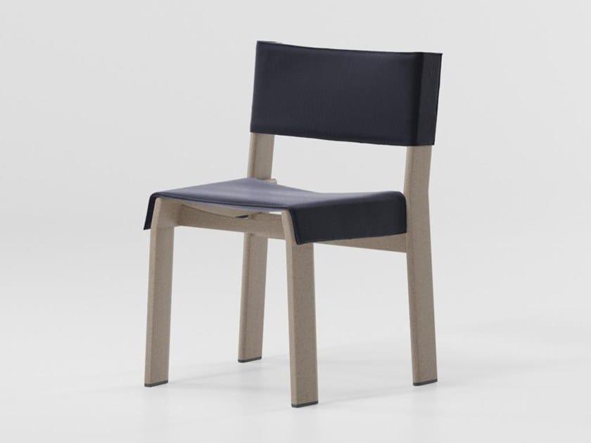 Aluminium chair BAND | Aluminium chair by Kettal