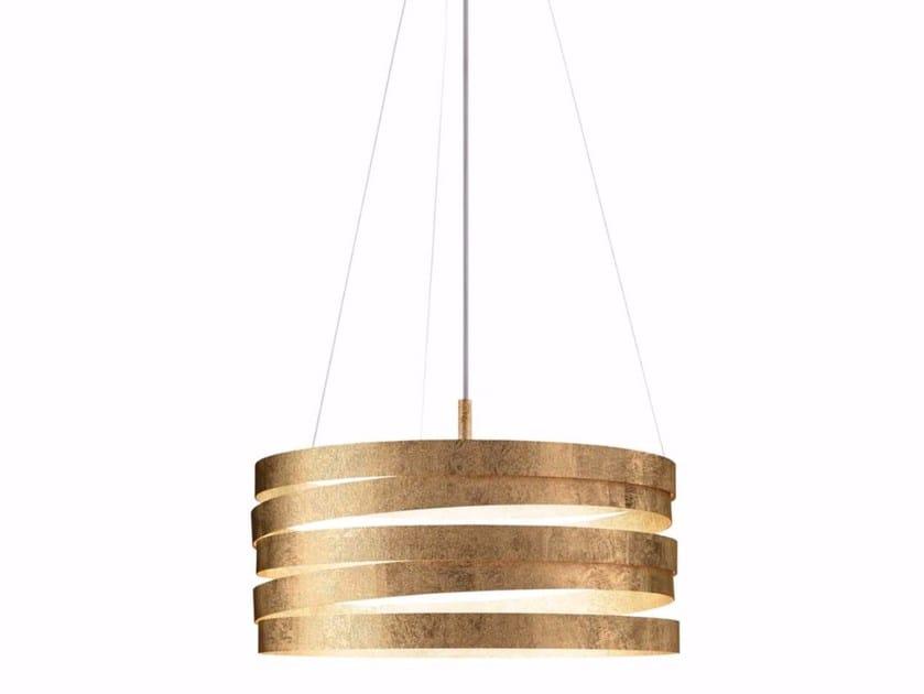 Metal pendant lamp BAND by Marchetti