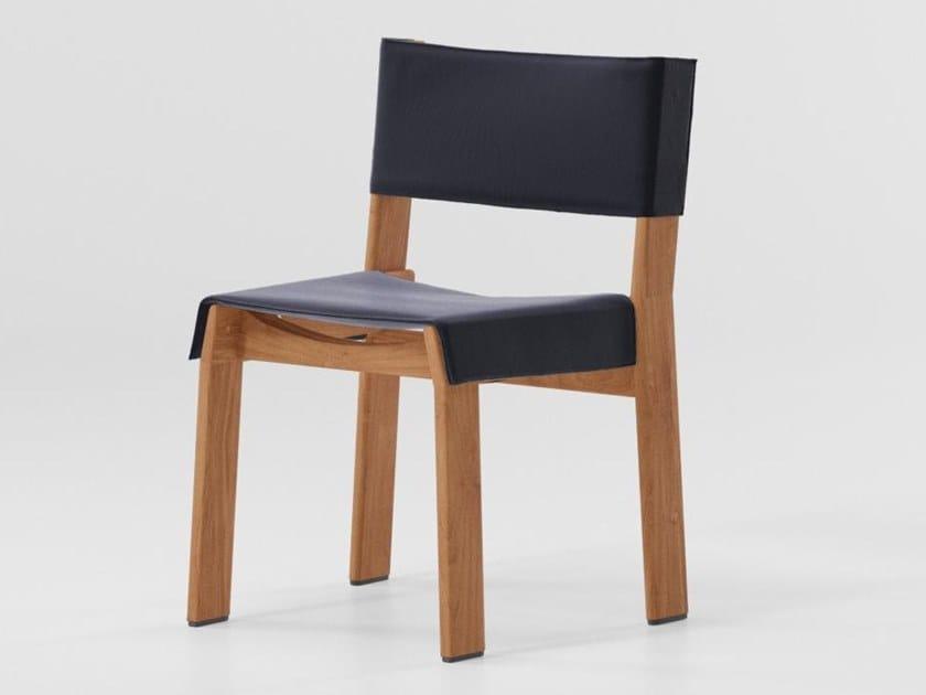 Teak chair BAND | Teak chair by Kettal