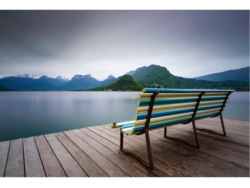 Stampa fotografica BENCH WITH A VIEW by Artphotolimited