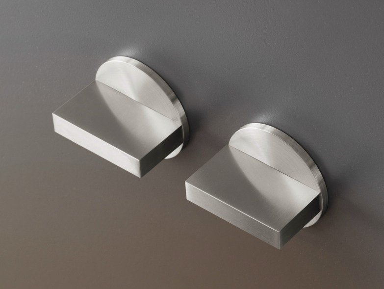 Wall mounted set of 2 shut-off mixing valves BAR 49 by Ceadesign