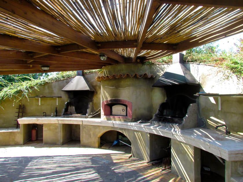Travertine barbecue Barbecue 16 by GH LAZZERINI