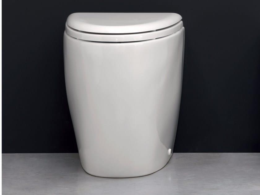 Floor mounted ceramic toilet BARCA   Floor mounted toilet by Nic Design