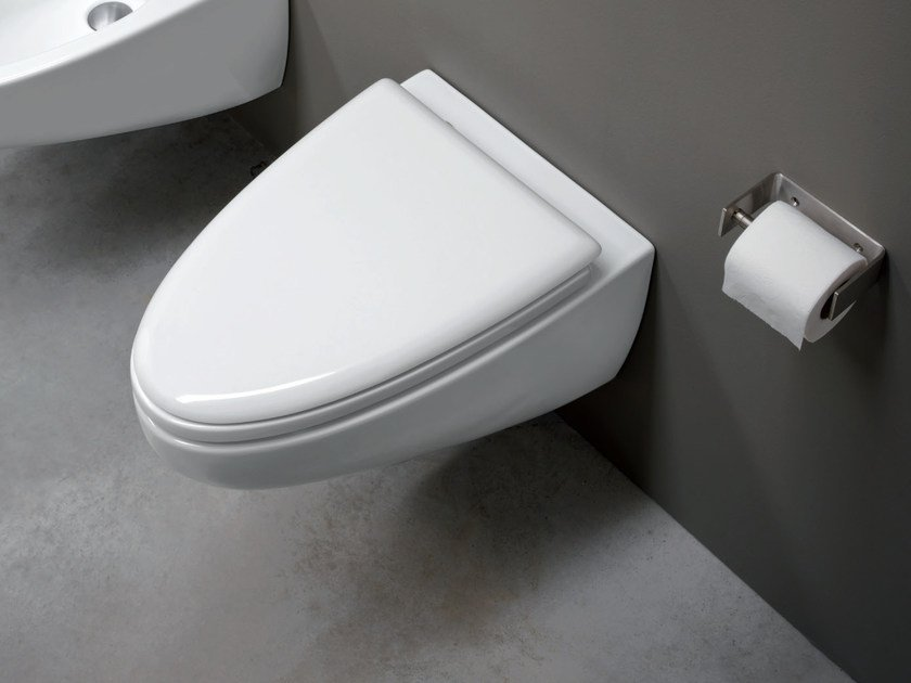 Wall-hung ceramic toilet BARCA | Wall-hung toilet by Nic Design