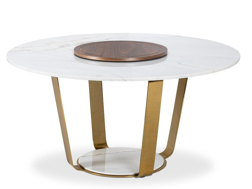 Round dining table BARCELONA | Dining table by Duquesa & Malvada