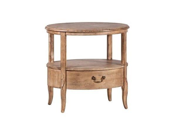 Tavolino ovale in betulla BARILLE by Arrediorg.it®