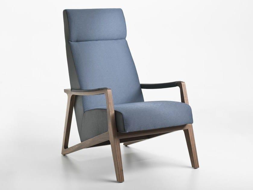 Louis Xv Bergere Fabric Armchair With Armrests Black Swan Nouveaux Classiques Collection By Roche Bobois