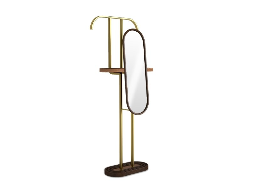 Wooden valet stand BARLOW by Wood Tailors Club
