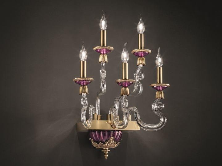Applique barocco axis a5 collezione axis system by euroluce lampadari