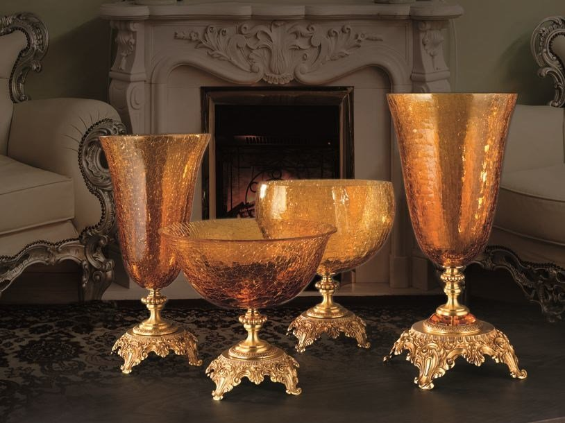 Vaso in vetro BAROCCO | Vaso by Euroluce Lampadari