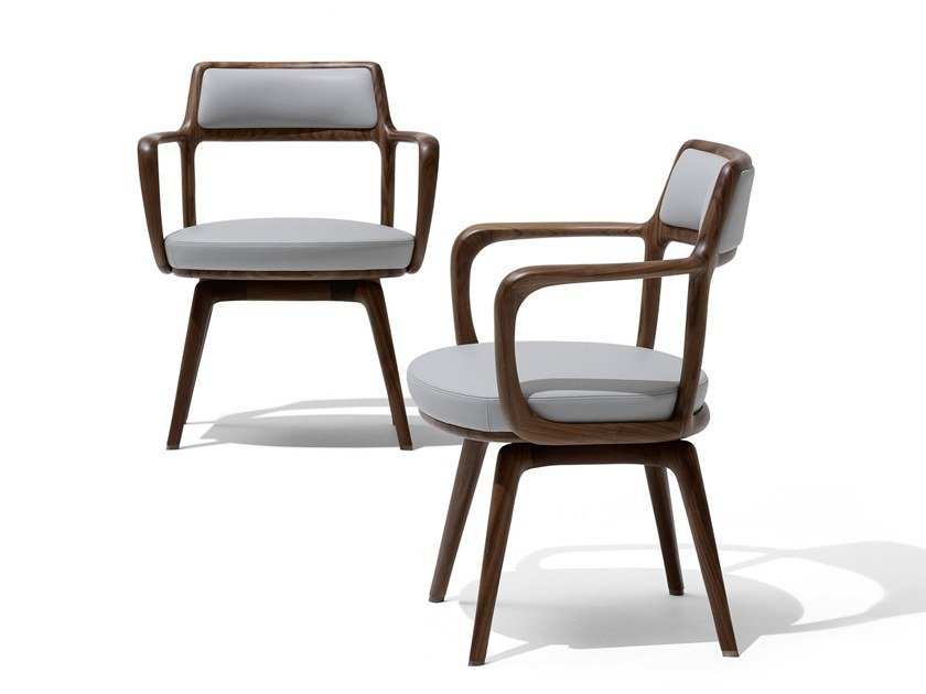 Chair with armrests BARON | Chair by GIORGETTI