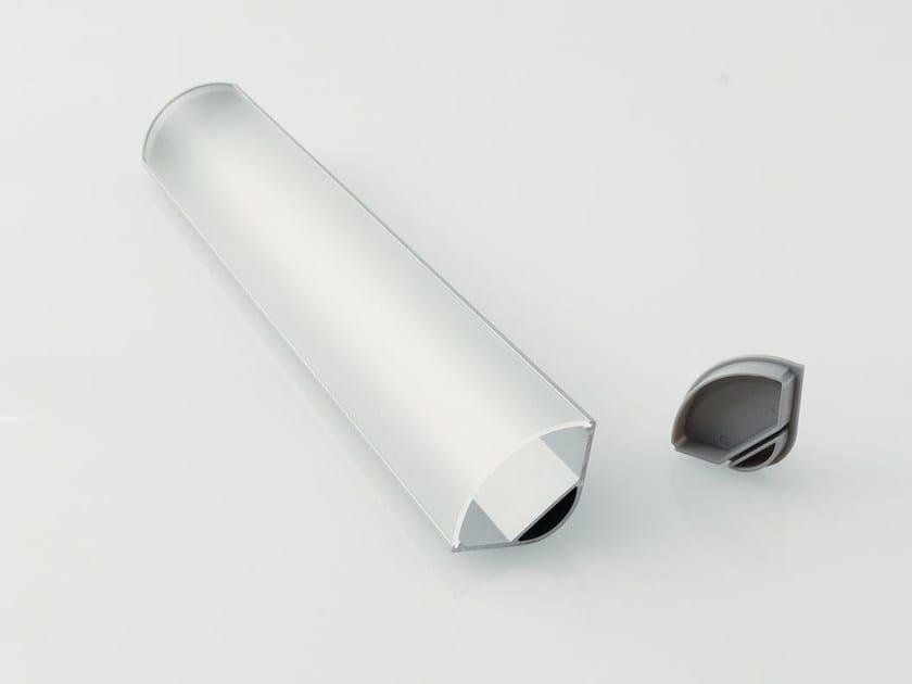 Profilo per illuminazione lineare in alluminio BARRA/STRIP/12 by NOBILE ITALIA