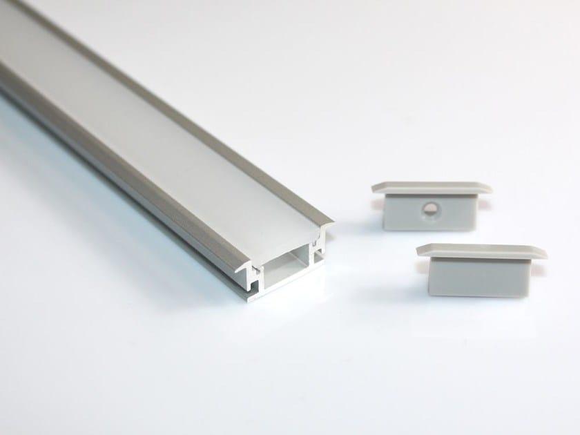 Aluminium Linear lighting profile BARRA/STRIP/15 by NOBILE ITALIA